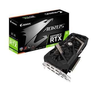 Gigabyte GeForce Aorus RTX 2080 Edition