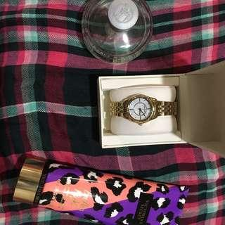 Gold and Two-tone Ladies Watch