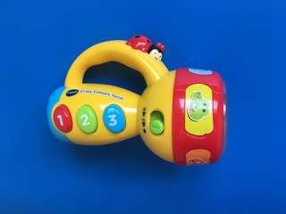 Vtech torchlight with colours and music