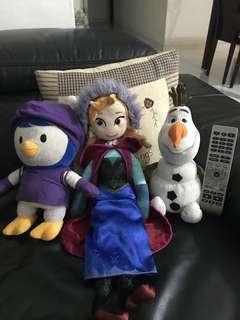 Authentic Anna, Olaf & Pororo penguin