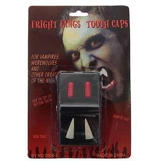 Evil deluxe vampire fangs caps #Carouween40