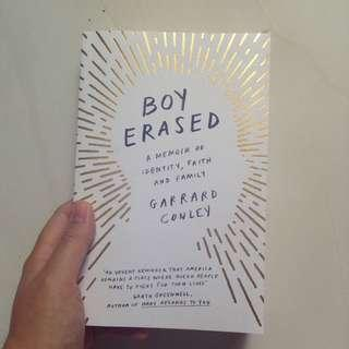 Boy Erased by Garrad Conley