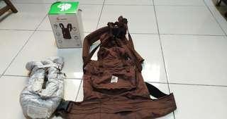 🚚 二手正版Ergobaby 100%有機棉背巾、正版嬰兒護墊