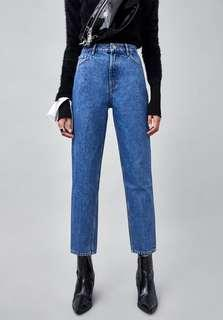Zara Mom Fit Authentic Jeans
