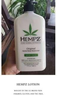 Hempz Lotion