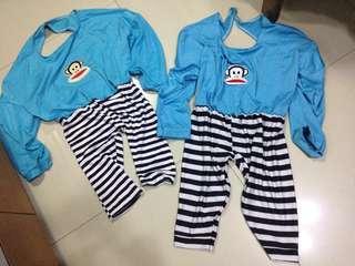 Twinning costumes