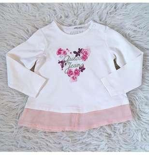 RUsH Sale! Authentic Guess baby long sleeves