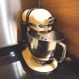 KitchenAid KSM150PSMY Artisan Series 5-Qt. Stand Mixer (FREE GLASS BOWL WORTH $160)