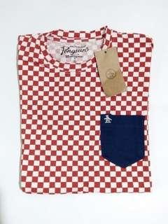 UNISEX Red Checkered Pocket Shirt