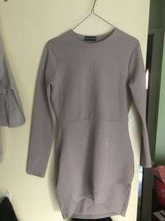 Dress soft purple pastel