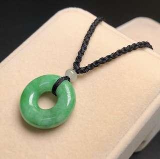 辣綠色平安環