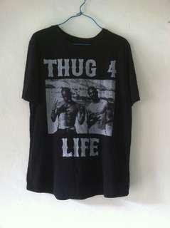 Tupac & Snoop Dogg size M