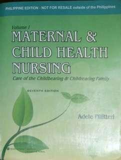 Maternal and Child Health Nursing by Pilliteri