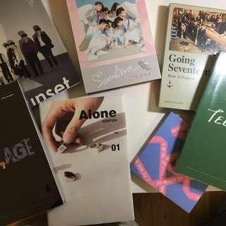 OFFICIAL SEVENTEEN Albums