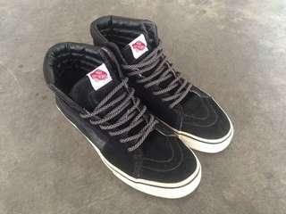 Vans Sk8 hi full black & Champion rally court
