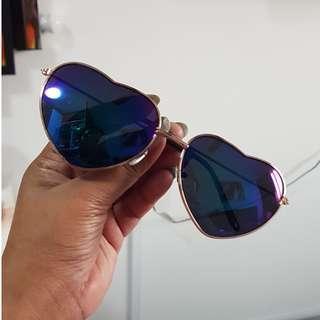 Heart shape shades