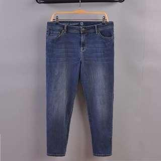 Straight cut Jeans (Strong stretchable) #OCT10