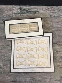 Kate Spade paper clips and magnets (2 items)
