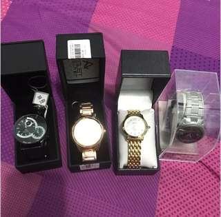 Assorted August Steiner and Casio Watch
