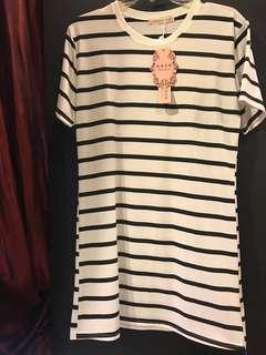 Women Striped Dress BNWT