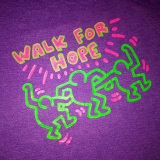 Keith Haring - Walk For Hope shirt