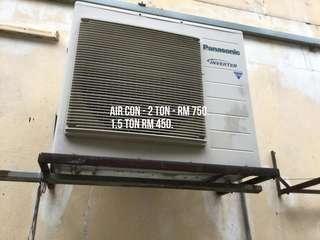 Aircond( 2 ton & 1.5 ton) Panasonic