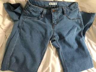 🥝 pull & bear low waist jeans