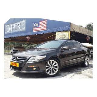 VOLKSWAGEN PASSAT CC SPORT 2.0 ( A ) TSI TURBO !! PREMIUM FULL HIGH SPECS COMES WITH SUNROOF AND ETC !! ( WXX 6168 ) 1 CAREFUL OWNER !!