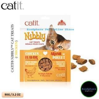 CATIT® NIBBLY™ Cat Treats (Chicken) - 90g