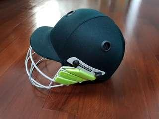 USED ONCE ONLY - Kookaburra Cricket Helmet