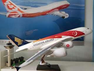 Singapore Airline A380 SG50 Livery Desktop model