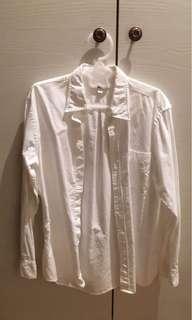 [二手衣]Uniqulo 男版s號長白襯衫