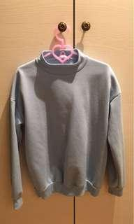 [二手衣]Miustar大學素T 無起毛球 (內刷毛)