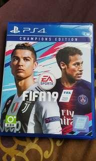 PS4 Games Fifa 19 Champions Edition
