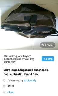 LONGCHAMP LARGE EXPANDABLE