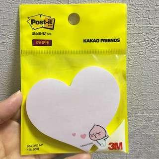 韓國Kakao Friends桃桃3M Post-it