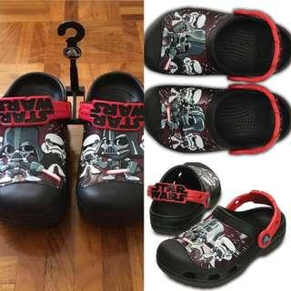 Crocs star wars kids/ anak sz 12 13