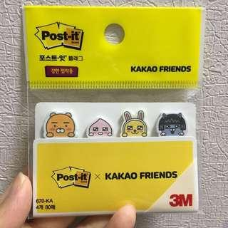 韓國Kakao Friends 便利貼