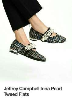 Jeffrey Campbell flat shoes