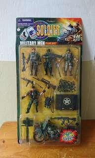 Soldier Force Military Men Play Set