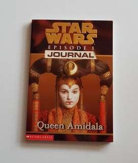 Star Wars Episode 1 Journal Queen Amidala