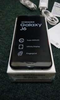 Samsung galaxy j6 fullset garansi panjang