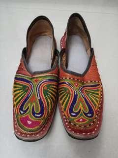流蘇民族鞋
