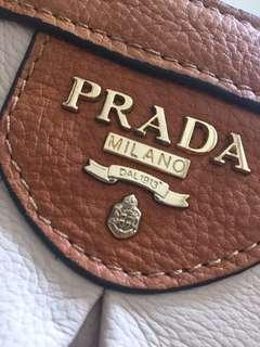 RARE Vintage Prada Bauletto Handbag