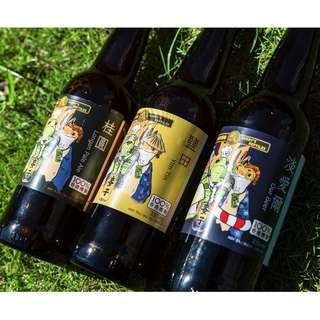 淡愛爾Our Beer (艾佛莉爬蟲X麥氏釀酒廠手工啤酒)