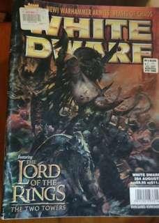 22 White Dwarf Magazines