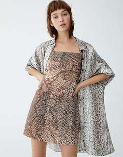 Promo A : Bnwt new arrival snake skin dress