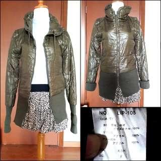 Japan winter coat / wind coat / jaket bulu angsa / jaket angin / spring autumn / winter jacket / jaket gunung / jaket army / parka / outer