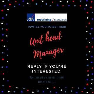 Axa Unit head Manager