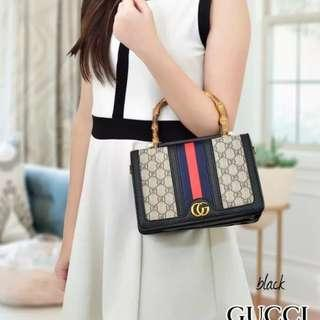 TAS GUCCI BAMBO FRONT BACK SAME TWO FACE 8041 (MURAH)